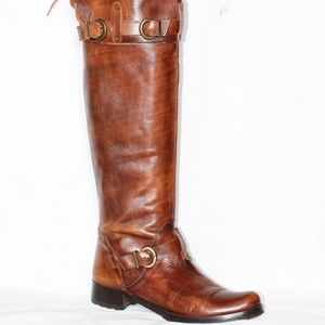 Charles David Over The Knee Riding Boot 38.5